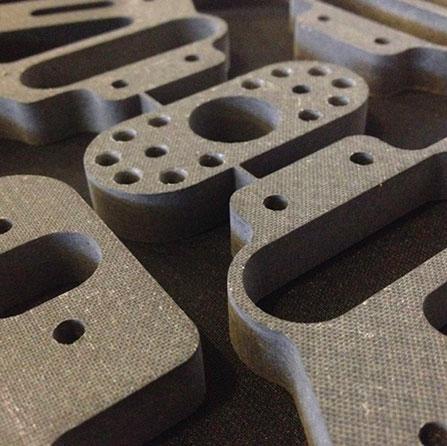 obróbka włókna szklanego carbonu karbonu detale gotowe elementy gotowe