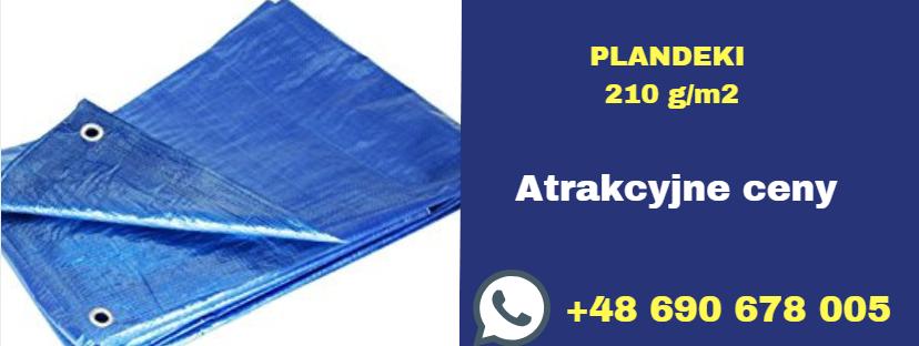 plandeki pp 210 g / m2